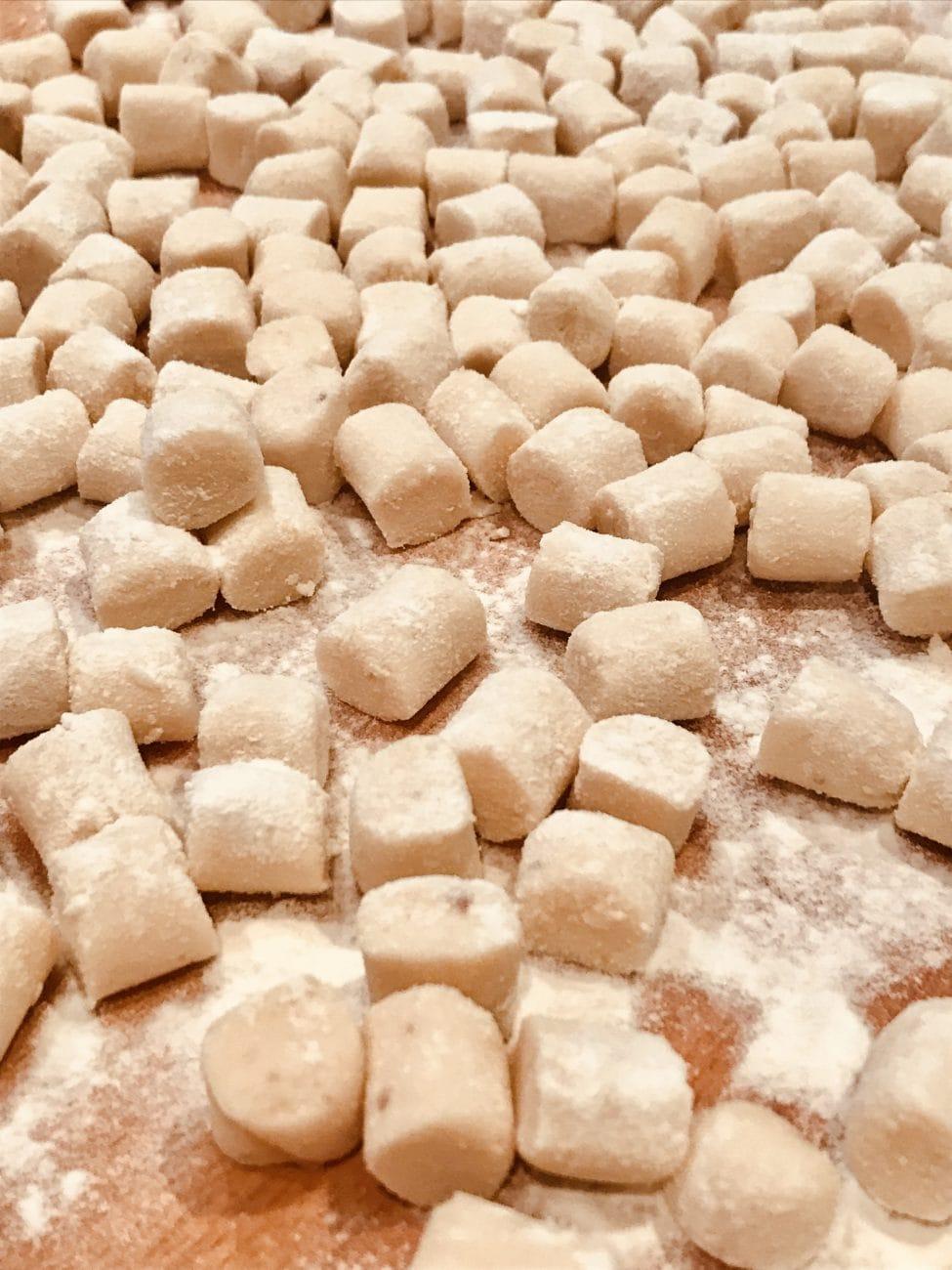 Potatoes Gnocchi with Rice flour