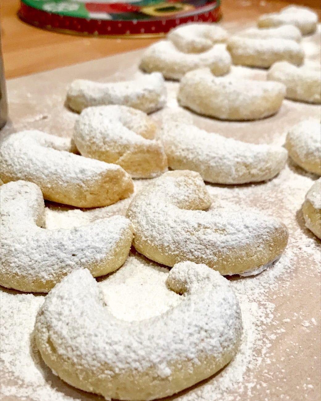 Vanille Kipferl, Christmas cookies