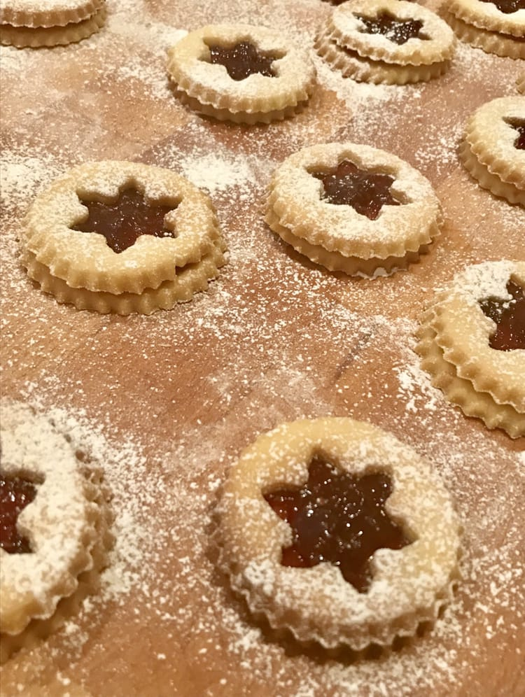 Linzer Cookies Christmas Tradition
